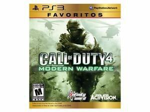Call Of Duty 4 Modern Warfare Favoritos Ps3 Nuevo Citygame E