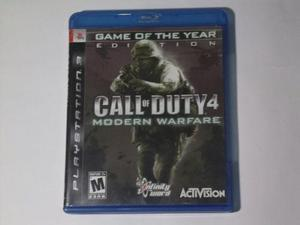 Call Of Duty 4 Modern Warfare Ps3 Juego Físico Videojuego