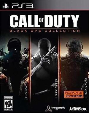 Call Of Duty Black Ops 1, 2 3 Collection Ps3 Nuevo Citygame