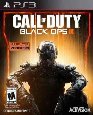 Call Of Duty Black Ops 3 Ps3 Playstation Nuevo Sellado Juego