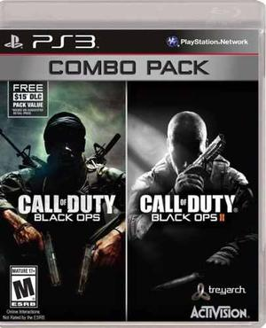 Call Of Duty Black Ops Combo Pack::.. Para Ps3 En Gc