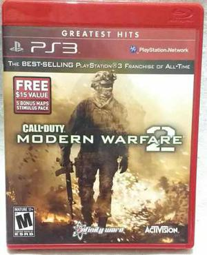 Call Of Duty Modern Warfare 2 Para Ps3 Usado