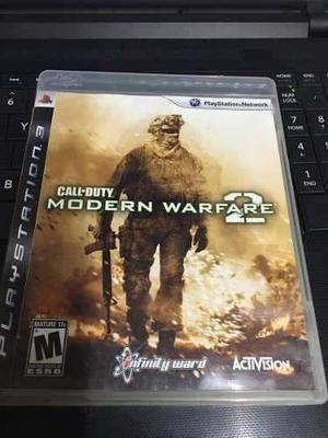 Call Of Duty Modern Warfare 2 Ps3 Seminuevo En Igamers