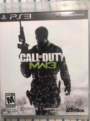 Call Of Duty Modern Warfare 3 (juegos Ps3)