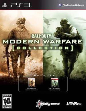 Call Of Duty Modern Warfare Collection Playstation 3 Nuevo