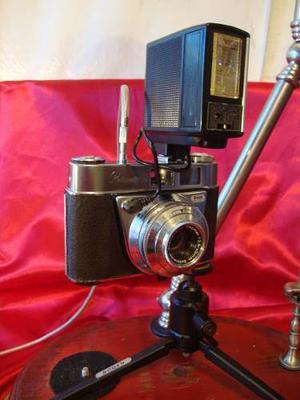 Camara Kodak Retinette Alemana Pelicula 35 Mm Sin Accesori