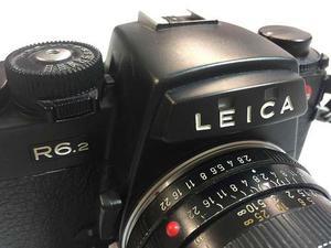 Camara Leica R6.2 Lente Elmarit  Mm