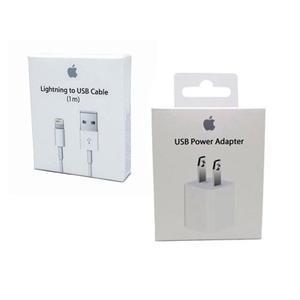 Cargador + Cable 1m Iphone 5 6 7 8 X Lightning Original