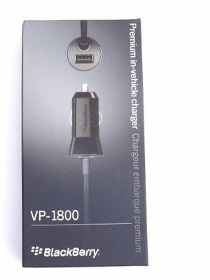 Cargador De Auto Para Celular Original Blackberry (1.8a)