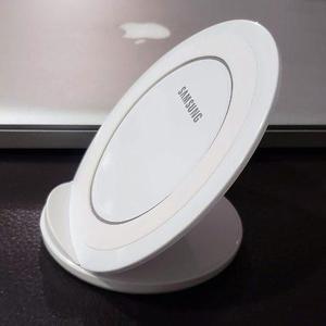Cargador Inalámbrico Qi Samsung Galaxy S6 S7 S8 Blanco