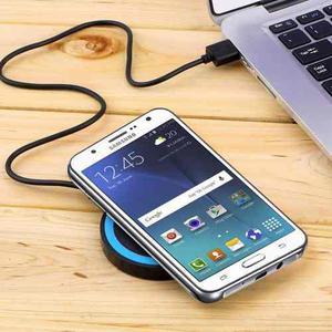 Cargador Inalámbrico Qi Universal Receptor Samsung Moto Lg