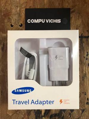 Cargador Tipo Turbo Samsung Cable Micro Usb Nuevos