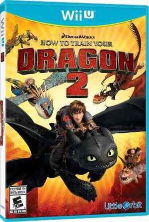 Cómo A Tren Su Dragón 2: La Vídeo Juego - Wii U