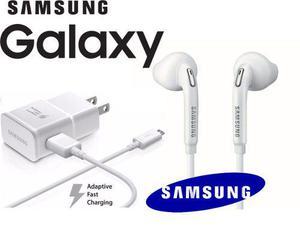 Combo Samsung Galaxy S4, S5, S6 Cargador Rápido Y