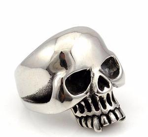 Cráneo Calavera Anillo Acero Inox Unisex Hombre Mujer G7