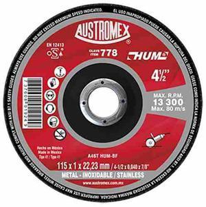 Disco Corte De Metal 4 1/2 Austromex 778