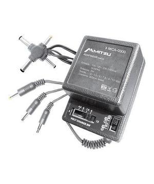 Eliminador Universal Múltiple Con 7 Conectores De 300 Ma