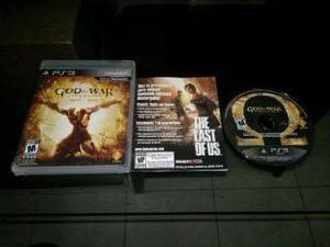 God Of War Ascension Completo Para Play Station 3,excelente