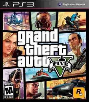 Grand Theft Auto V Ps3 Primera Edicion Nuevo Citygame