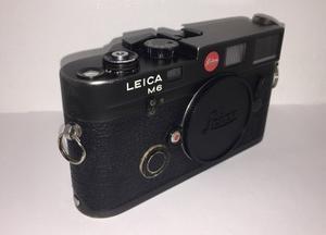 Leica M6 Ttl 35mm Rangefinder Cuerpo De La Cámara Negro
