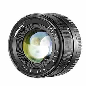 Lente 35mm F/1.2 Para Camaras Aps-c Sony E Mount Mirrorless