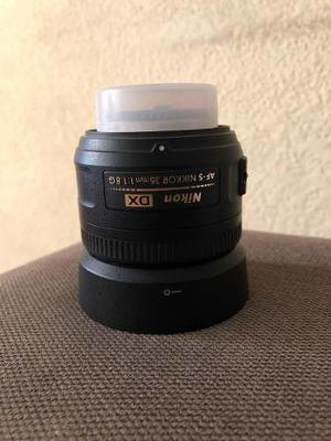 Lente Dx 35mm Af-s 1.8f
