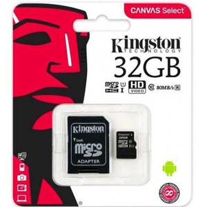 Memoria Micro Sd 32gb Uhs-i Clase10 Kingston Clase10 Cl10