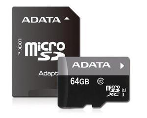 Memoria Micro Sd Hc Uhs-i 64gb Adata Clase 10