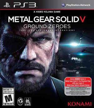 Metal Gear Solid V Ground Zeroes Ps3 Nuevo Fisico Od.st