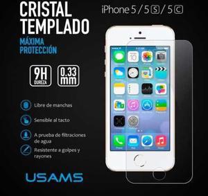 Mica Cristal Templado Iphone 4 5 6 6+ 7 7+ 8 8+ X Mayoreo!!!