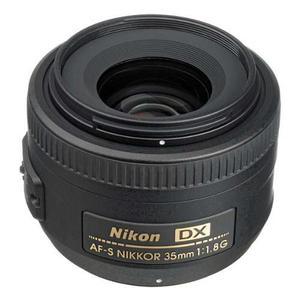 Nikon 35mm F/1.8g Af-s Dx Lente Para Cámaras Slr Digitales