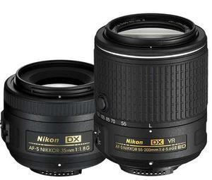 Nikon Af-s Dx Nikkor 35mm F/1.8g + Af-s Dx Nikkor mm F