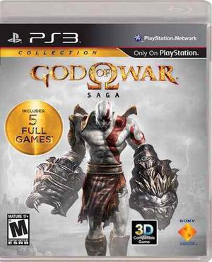 Nuevo - God Of War Saga - 5 Juegos 2 Discos