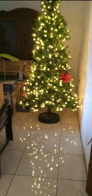 Pino de Navidad con luces integradas