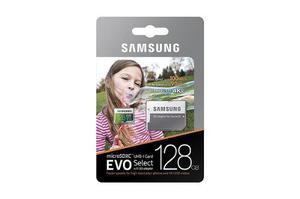 Samsung Evo Select 128gb 95mb/s Memoria Micro Sd Microsd U3