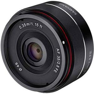 Samyang Syio35af-e 35 Mm F / 2.8 Lente Gran Angular Ultracom