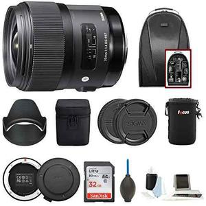Sigma 35mm F1.4 Art Dg Hsm Lens For Nikon Dslr Cameras W/sig