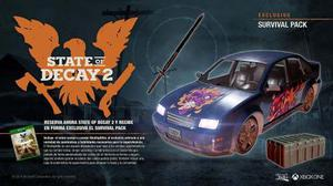 State Of Decay 2 Pack Survivol Pack Dlc Xbox One Y Pc