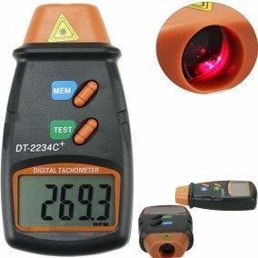 Tacometro Digital Luz Laser Optico No Toca El Rpm