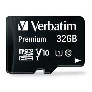 Tarjeta De Memoria Micro Sd 32 Gb Clase 10 Verbatim 44083