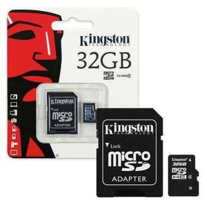 Tarjeta De Memoria Micro Sdhc 32gb Kingston Clase 4 Ram-1867