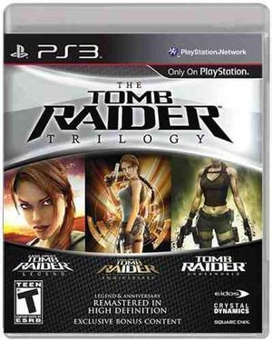 The Tomb Raider Trilogy: Para Ps3 En Start Games A Meses