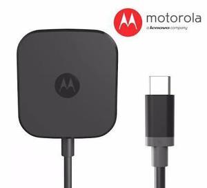 Turbo Cargador Motorola Z Tipo C Fast Charger Power 15w