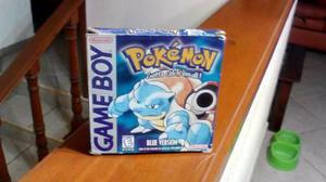 Caja E Instructivo De Pokemon Azul Gameboy