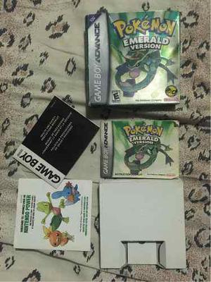 Caja Pokemon Emerald Completa Nintendo Gameboy Advance