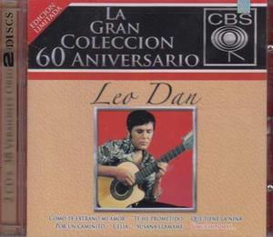 Cd Doble Leo Dan. La Gran Coleccion 60 Aniversario Cbs, 2007