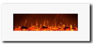 Chimenea Eléctrica De Pared Touchstone 50'' Blanca