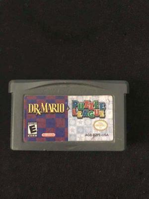 Dr. Mario Y Puzzle League Nintendo Game Boy Advance Original