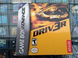 Driver 3 Game Boy Advance, Completo Con Caja.