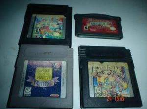Game Boy Coleccion Game & Watch Gallery Gb Gbc Gba